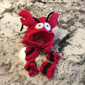 Crab Costume Dog Small